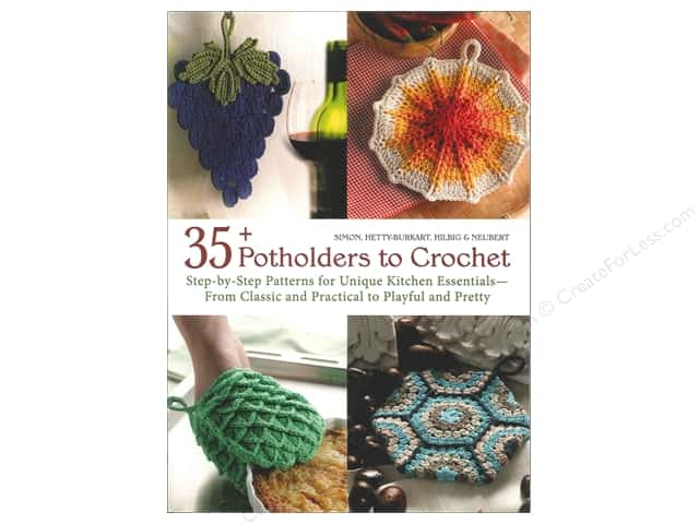 Trafalgar Square 35+ Potholders to Crochet Book
