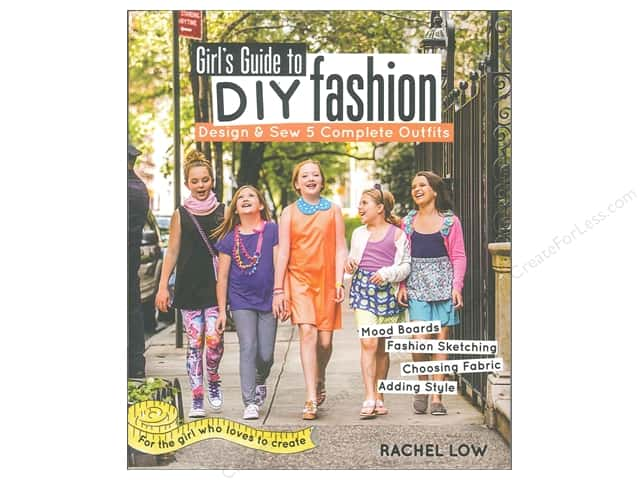 FunStitch Studio By C&T Girl's Guide To DIY Fashions Book
