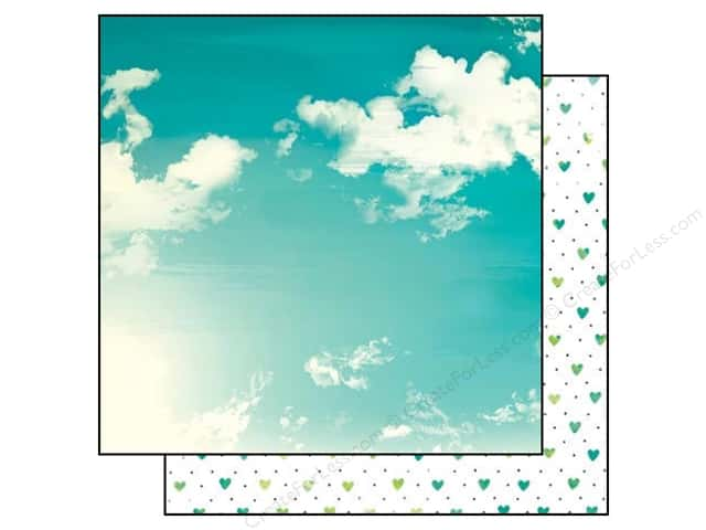Bo Bunny 12 x 12 in. Paper Forever Young Collection Fresh Air (25 sheets)