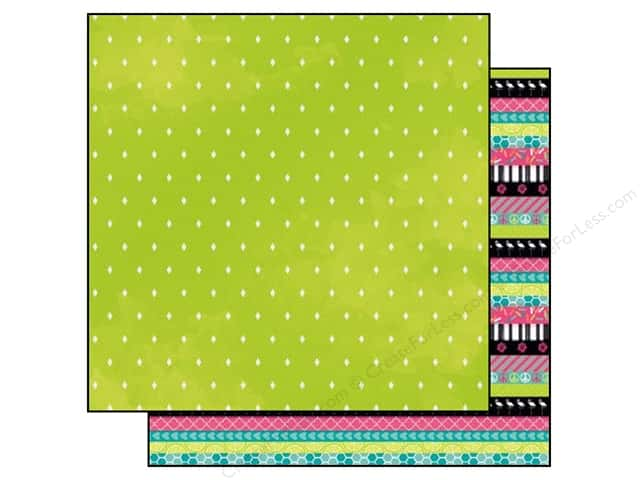 Bo Bunny 12 x 12 in. Paper Forever Young Collection Heart (25 sheets)