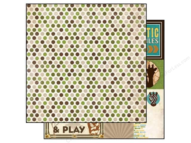 Bo Bunny 12 x 12 in. Paper Safari Zoo (25 sheets)