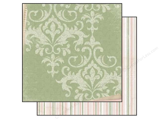 Bo Bunny 12 x 12 in. Paper Garden Journal Collection Airy (25 sheets)