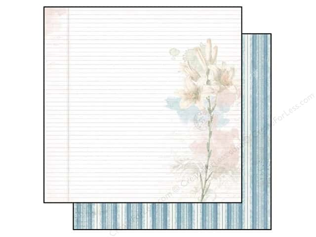 Bo Bunny 12 x 12 in. Paper Garden Journal Collection Delight (25 sheets)