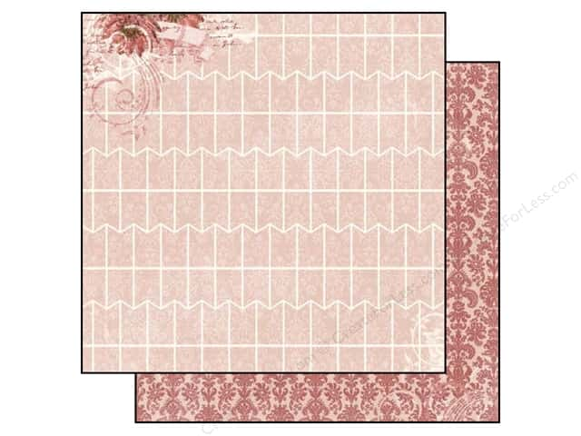 Bo Bunny 12 x 12 in. Paper Garden Journal Collection Wonder (25 sheets)