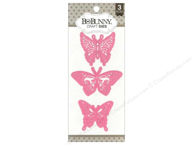 Bo Bunny Craft Dies 3 pc. Flutter