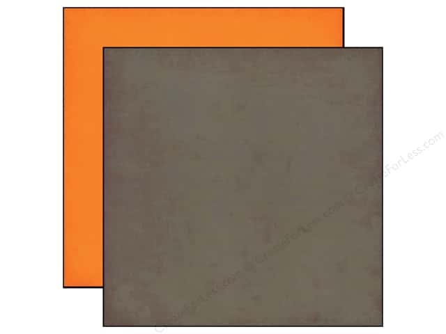 Echo Park 12 x 12 in. Paper Jack & Jill Boy Collection Gray/Orange (25 sheets)