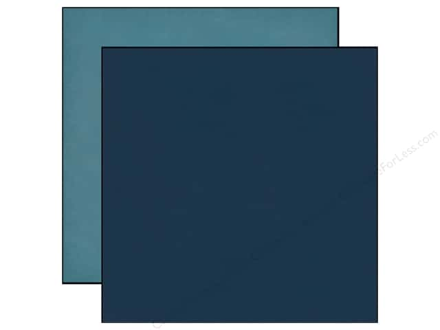 Echo Park 12 x 12 in. Paper Jack & Jill Boy Collection Navy/Teal (25 sheets)