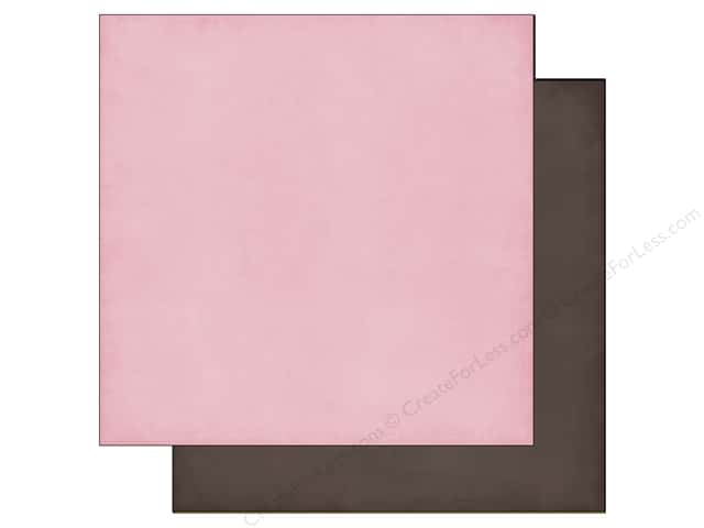 Echo Park 12 x 12 in. Paper Jack & Jill Girl Collection Light Pink/Brown (25 sheets)