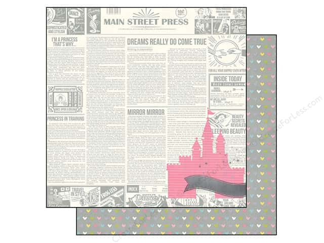 Simple Stories 12 x 12 in. Paper Enchanted Once Upon A Time (25 sheets)
