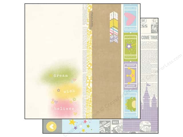 Simple Stories 12 x 12 in. Paper Enchanted Elements (25 sheets)