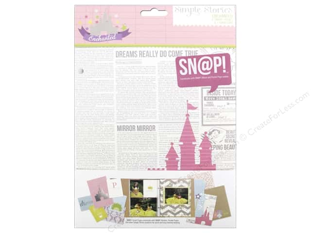 Simple Stories Collection Enchanted Snap Pages
