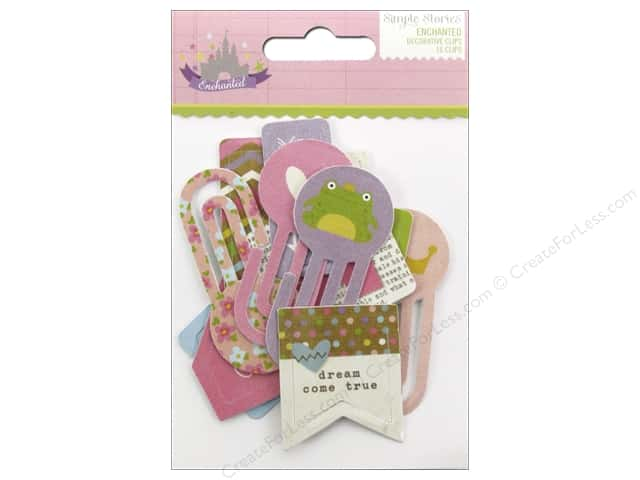 Simple Stories Collection Enchanted Clips