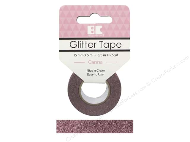 Best Creation Glitter Tape 5/8 in. x 5 1/2 yd. Canna