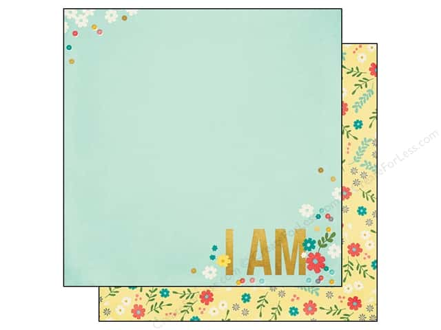 Simple Stories 12 x 12 in. Paper I AM Beautiful (25 sheets)