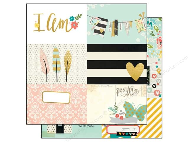 Simple Stories 12 x 12 in. Paper I AM Journal 4 x 6 in. (25 sheets)