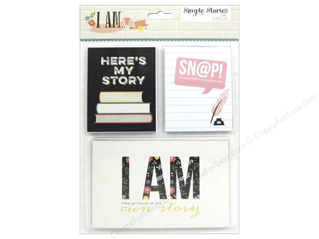 Simple Stories Collection I AM Snap Cards
