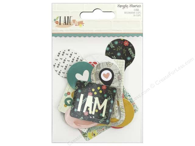 Simple Stories Collection I AM Clips