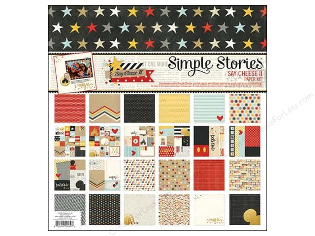 Simple Stories 12 x 12 in. Collection Kit Say Cheese II