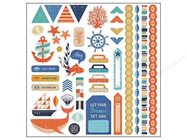BasicGrey Element Stickers Adrift (12 sheets)