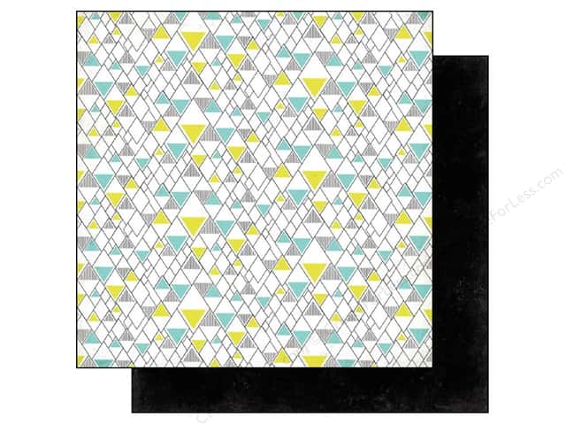 BasicGrey 12 x 12 in. Paper Prism Pyramid (25 sheets)