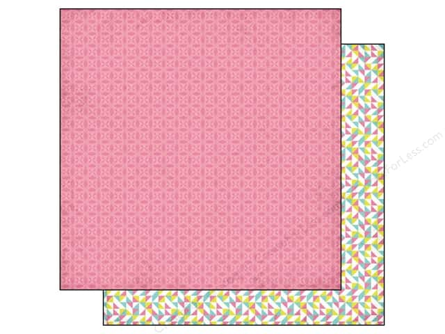 BasicGrey 12 x 12 in. Paper Prism Medallion (25 sheets)