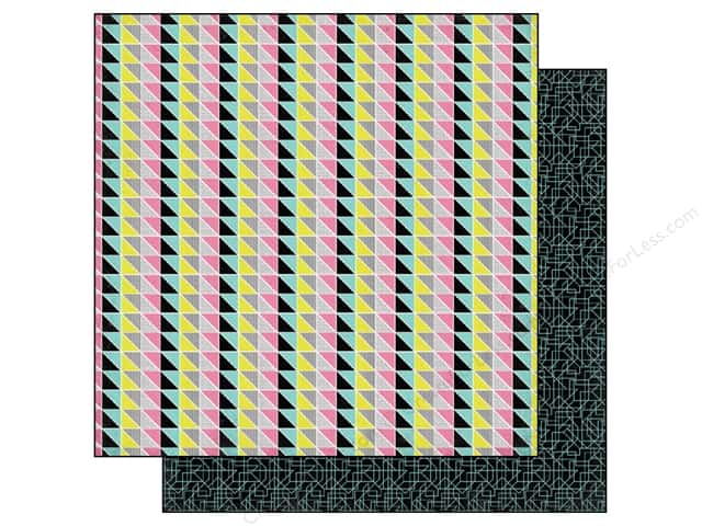 BasicGrey 12 x 12 in. Paper Prism Quilt (25 sheets)