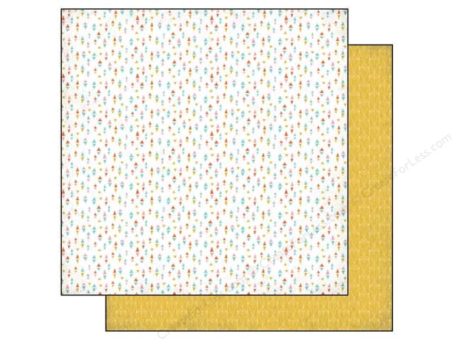 BasicGrey 12 x 12 in. Paper Prism Aztech (25 sheets)