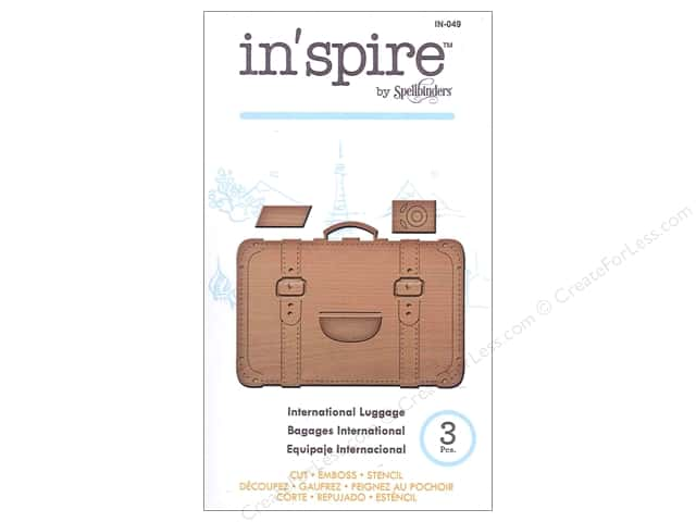 Spellbinders In Spire Die International Luggage