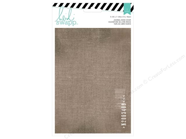 Heidi Swapp Wanderlust Book Cover Printed Cotton