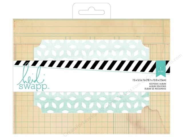 Heidi Swapp Wanderlust Keepsake Album 7 1/2 x 5 1/2 in. Ledger Rectangle