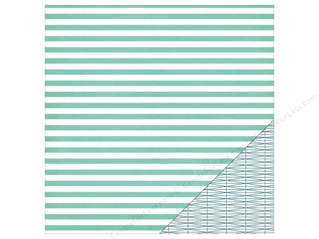 Heidi Swapp Paper 12 x 12 in. Wanderlust Seaside (25 sheets)