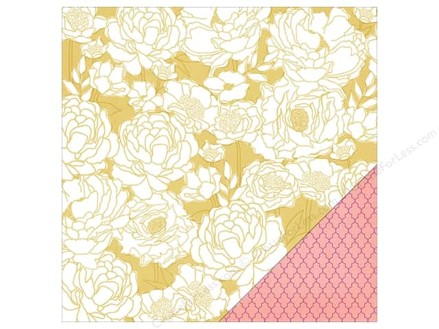 Heidi Swapp Paper 12 x 12 in. Wanderlust Cafe (25 sheets)