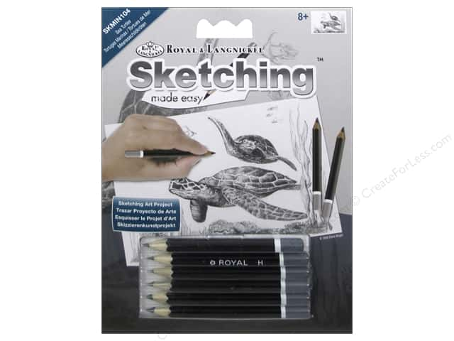Royal Sketching Made Easy Mini Sea Turtle