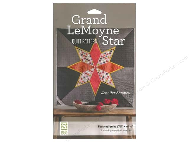 Stash By C&T Grand LeMoyne Star Quilt Pattern