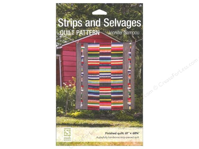 Stash By C&T Strips And Selvages Quilt Pattern