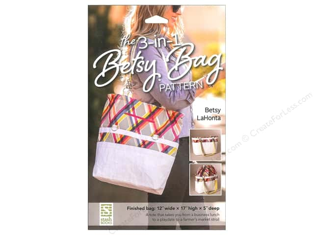 Stash By C&T 3-In-1 Betsy Bag Pattern