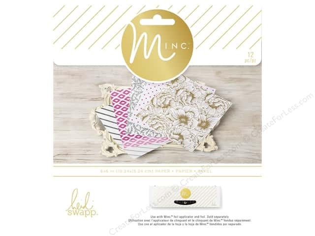 Heidi Swapp Minc Paper Pad 6 x 6 in. 5th Avenue