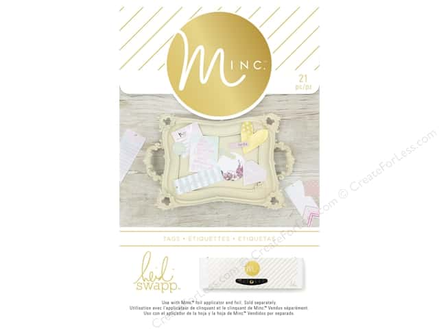 Heidi Swapp Minc Tags 21 pc. Spectacular