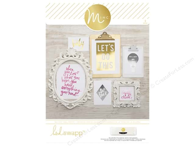 Heidi Swapp Minc Gallery Prints 6 pc. Signature