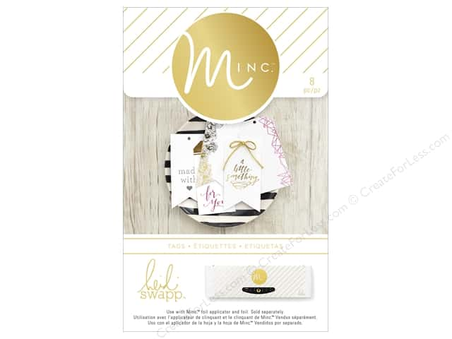 Heidi Swapp Minc Tags 8 pc. For You