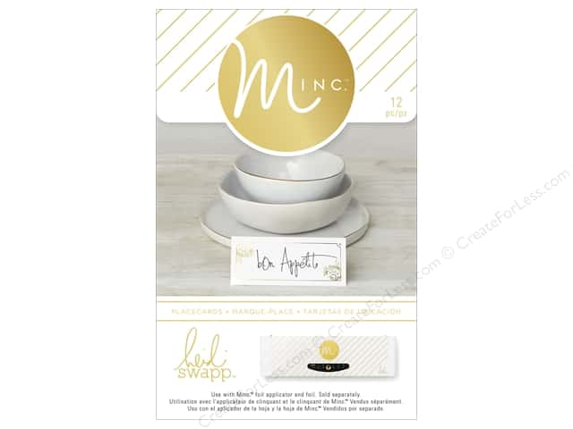 Heidi Swapp Minc Place Cards 12 pc.