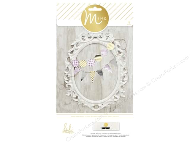 Heidi Swapp Minc Mini Banners 52 pc.