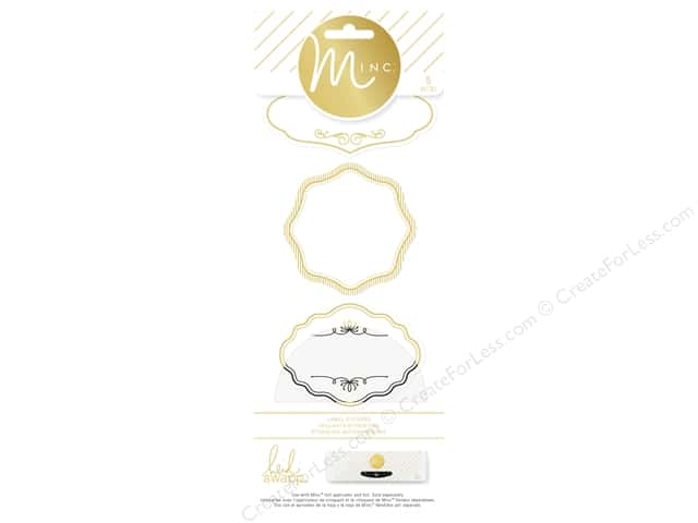 Heidi Swapp Minc Label Stickers 8 pc.