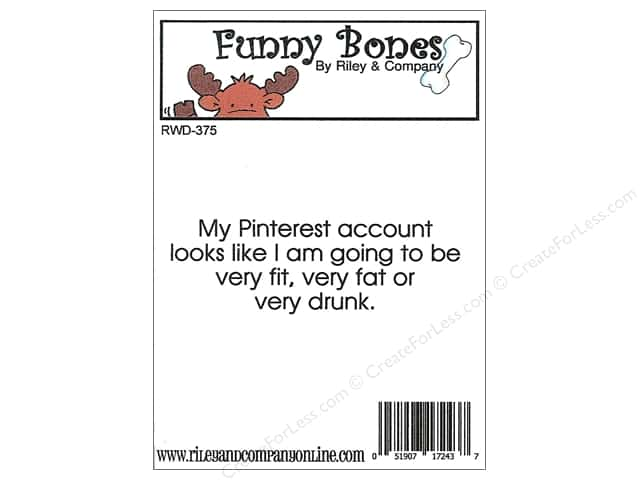 Riley & Company Cling Stamps Funny Bones My Pinterest Account