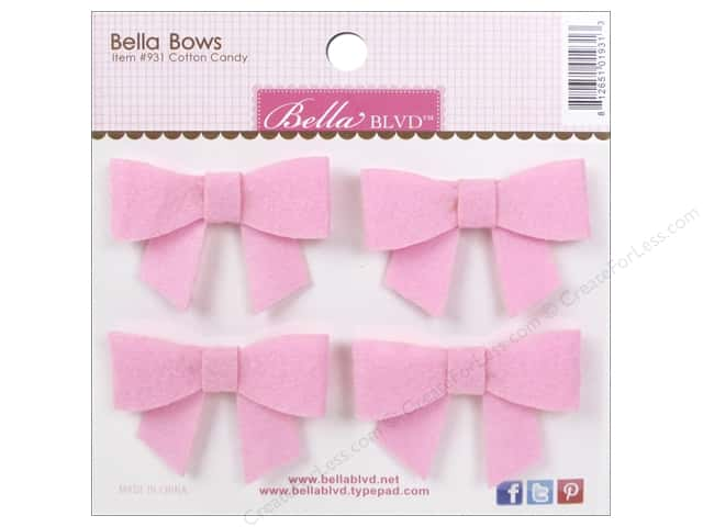 Bella Blvd Stickers Bella Bows Color Chaos Cotton Candy