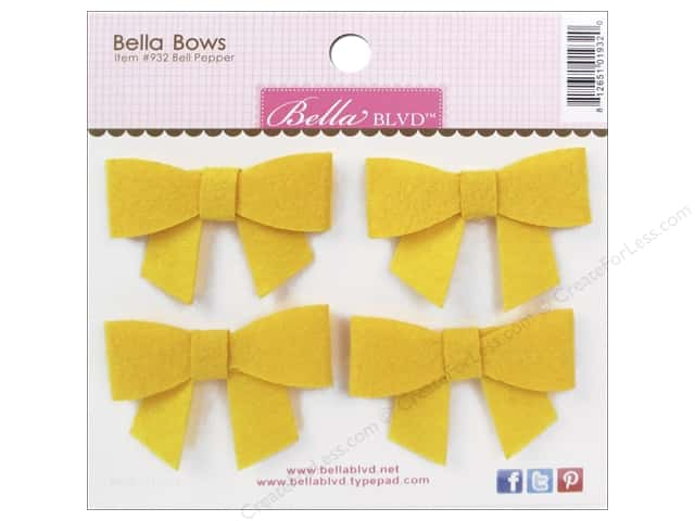 Bella Blvd Stickers Bella Bows Color Chaos Bell Pepper