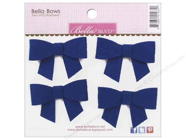 Bella Blvd Color Chaos Sticker Bella Bow Blueberry