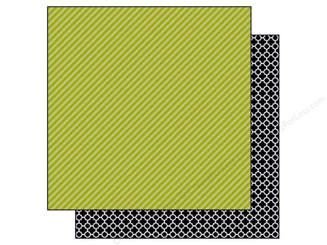 Bella Blvd 12 x 12 in. Paper Color Chaos Strandz Pickle Juice (25 sheets)