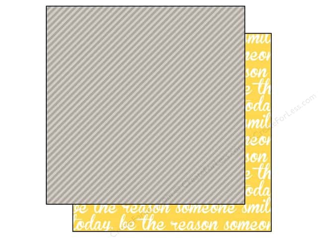 Bella Blvd 12 x 12 in. Paper Color Chaos Strandz Scallop (25 sheets)