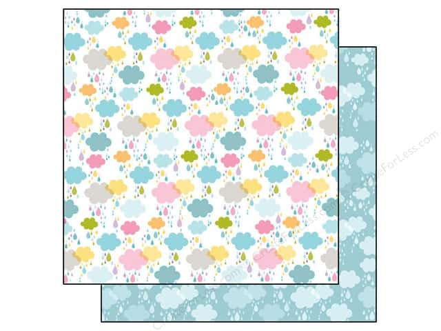 Bella Blvd 12 x 12 in. Paper Simply Spring Dancing In The Rain (25 pieces)